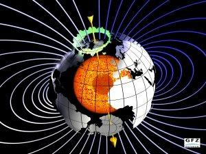 Champ géomagnétique
