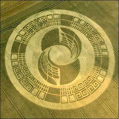 cropcircle Silbury Hill 2004