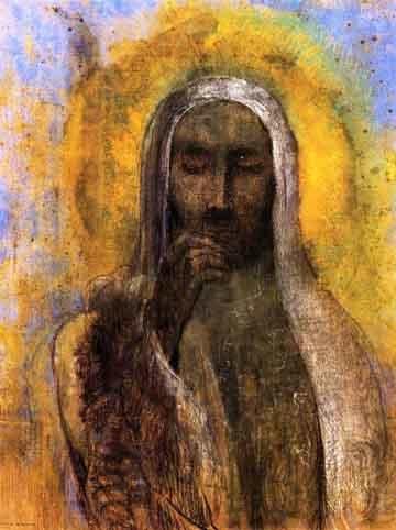 IMAGE - [Image] Vos images Odilon-Christ-en-silence