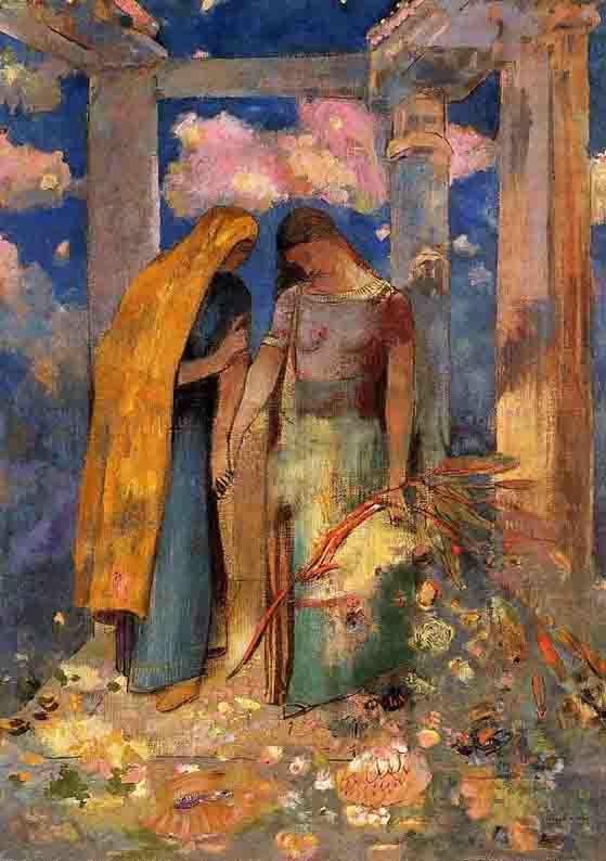 Odilon Redon - Conversation Mystique