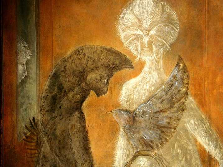 Peinture de Leonora Carrington