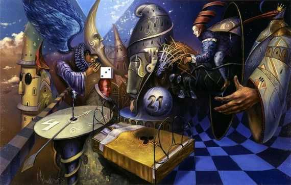 Peinture de Tomek Setowski