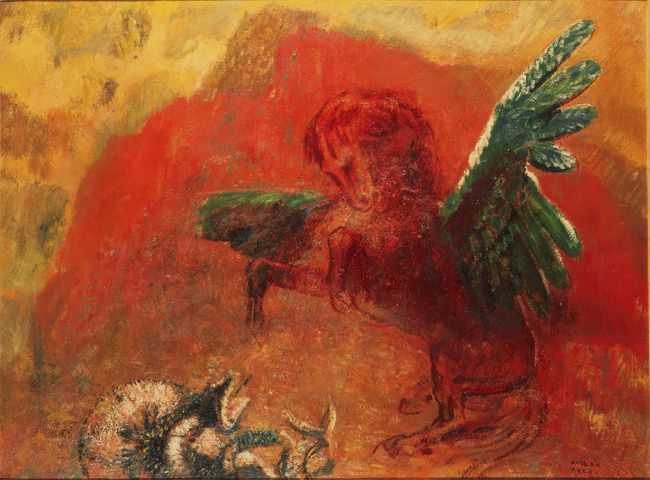 Peinture d'Odilon Redon