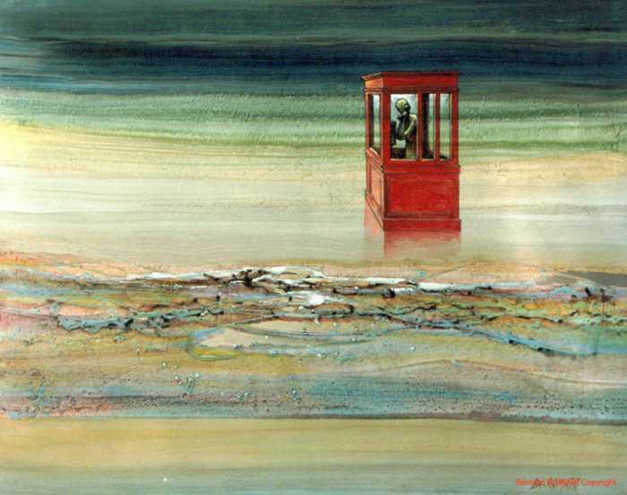 Peinture de Bernard Romain