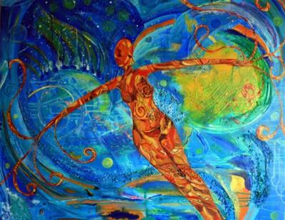 Peinture de Catherine Raghoonauth