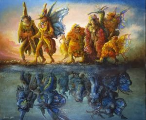 Peinture de Wolfgang Harms